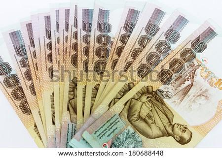 One Thousand Thai Baht  - stock photo