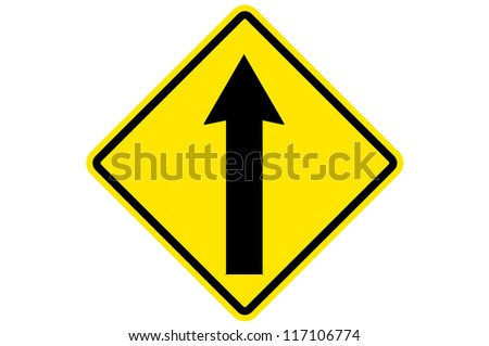 One Way Traffic, GUIDE SIGN CONVENTION HIGHWAYS