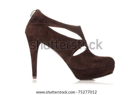 one womens shoe - stock photo