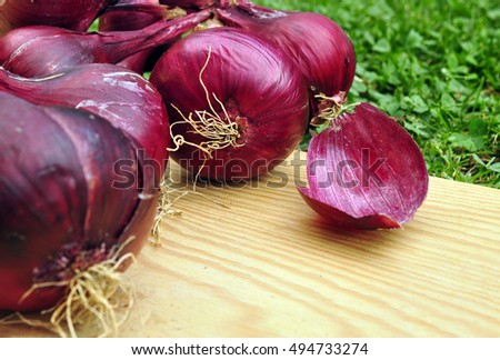 Onion nature product