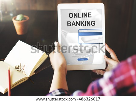 Online Banking Commercial Internet Finance Concept