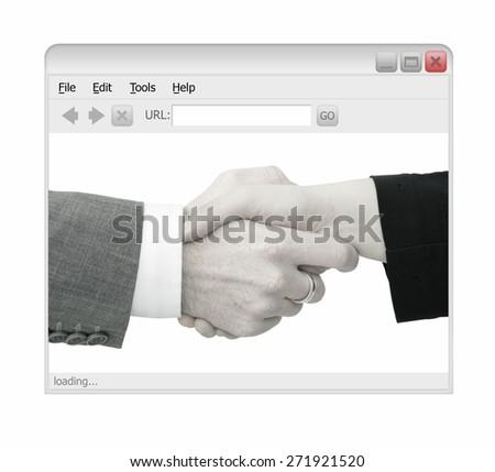 Online Deal - stock photo