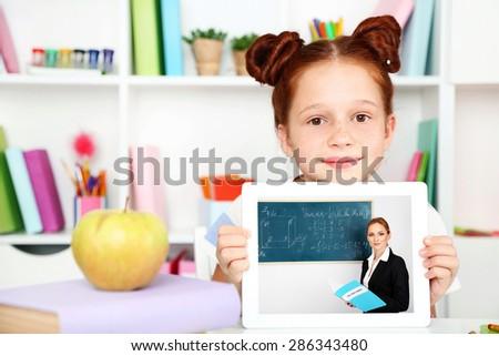 Online education concept - stock photo