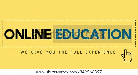 Online Education Experience Knowledge Digital Concept