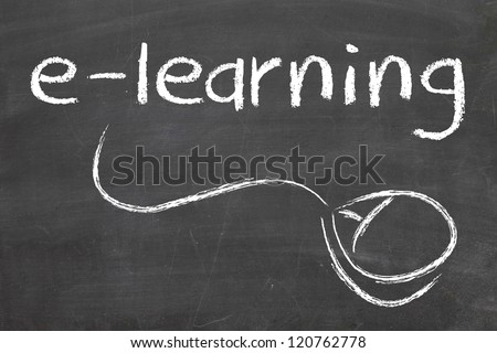 Online Education or Distance Learning - stock photo