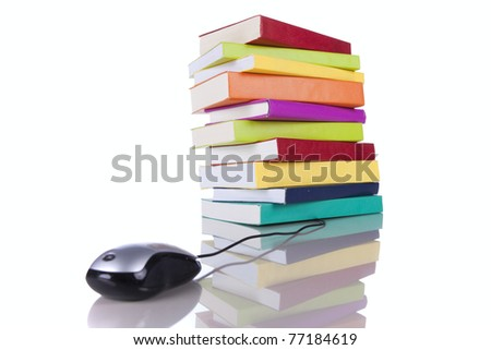 online information access concept (selective focus) - stock photo