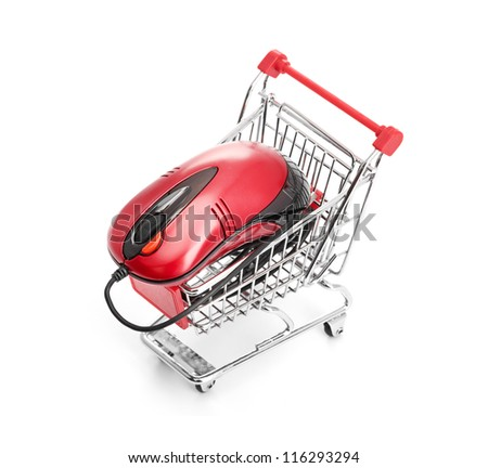 Online Internet Shopping. - stock photo