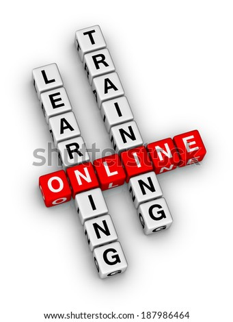 online learning and training crossword puzzle