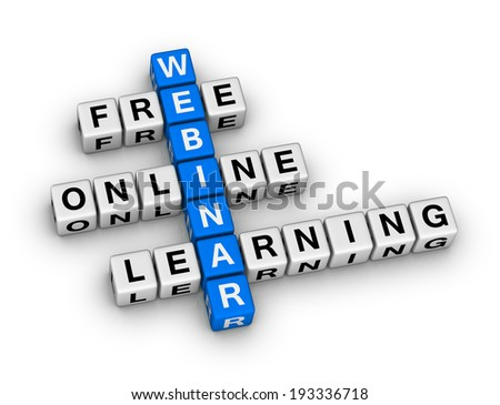 online learning webinar crossword puzzle