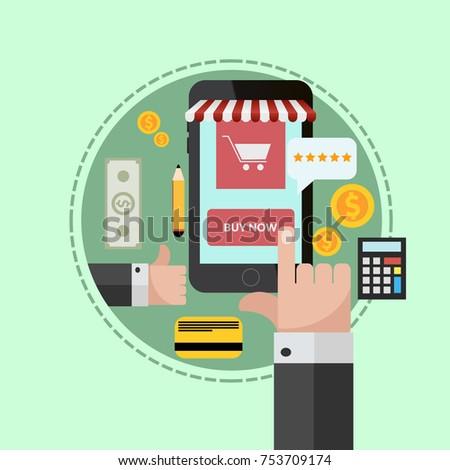 awesome fabulous online mobile shop concept banner design with online mbel shop with mbel design shop with mbel design online