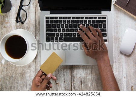 online payment concept photo - stock photo