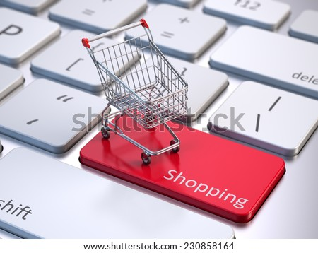 Stock Photos Online Online shopping concept