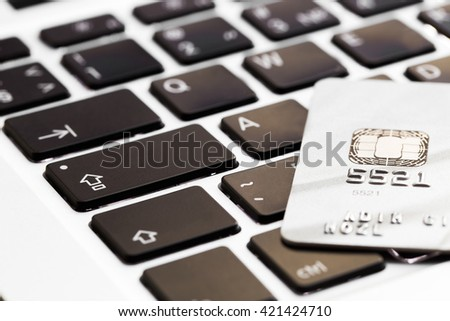 online shopping or internet shop concepts - stock photo