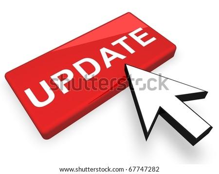 Online Update - stock photo