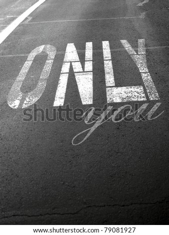 Only You - stock photo