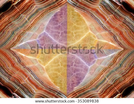 onyx marble texture background of natural stone - stock photo