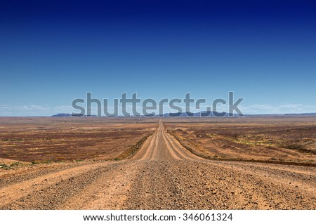 Oodnadatta Track, Australia - stock photo