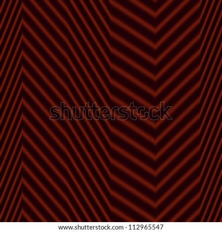 Op Art Seamless Waves Texture Deep Red and Black