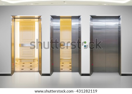 open office doors. Brilliant Open Open And Closed Chrome Metal Office Building Elevator Doors Realistic  Photo Lift Transportation Floor To And Office Doors