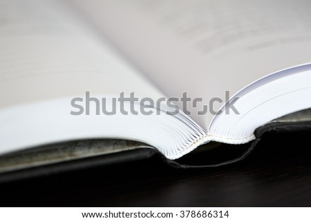 Open book. - stock photo