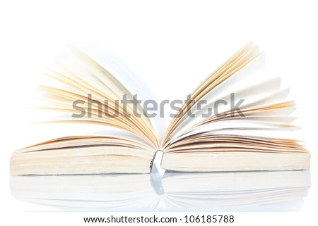 Open Book Encyclopedia on a white background.