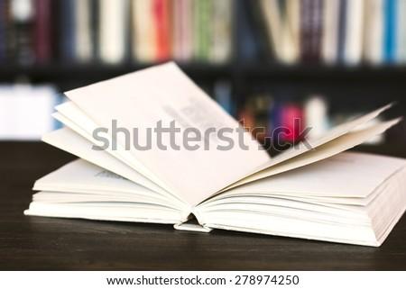 Open Book./ Open Book. - stock photo