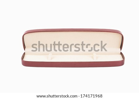 Open box of hours under - stock photo