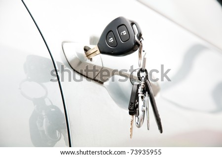 Open car door by key