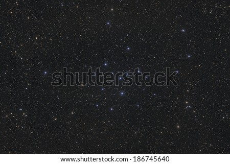 Open Cluster IC 4665 - stock photo