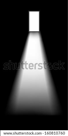 Open Door Dark Room Stock Illustration 160810760 Shutterstock