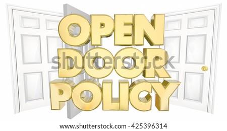 Open Door Welcome Clipart open door policy stock images, royalty-free images & vectors