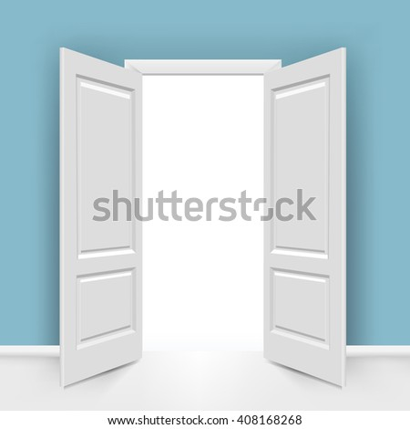 Open Doors  - stock photo
