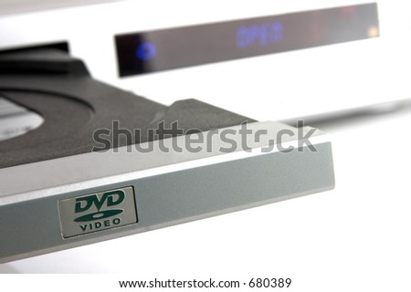 Open dvd player tray