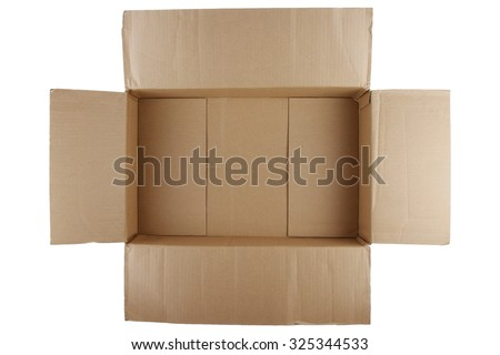 Empty Cardboard Box Stock Images, Royalty-Free Images & Vectors ...