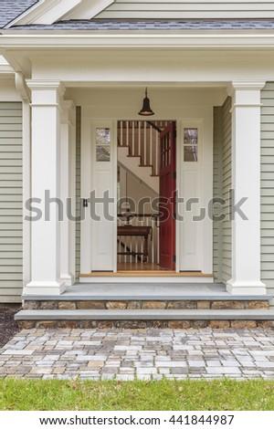 Open Front Door Welcome open front door house stock images, royalty-free images & vectors