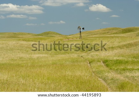 open grassland in Nebraska