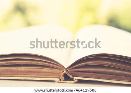 open old book pages, knowledge concept, education concept
