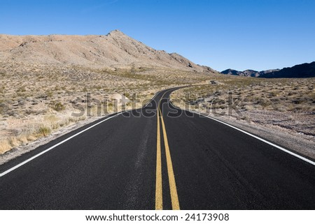 Open Road - stock photo