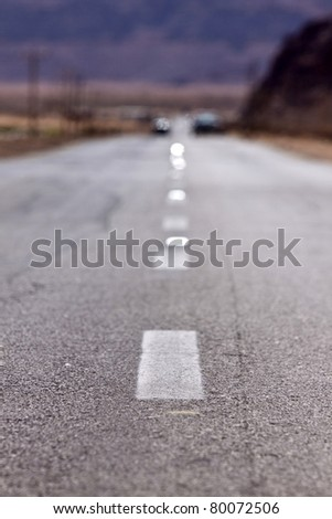 open straight road