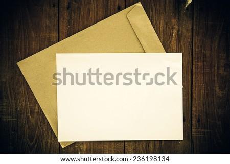 Open yellow envelope - stock photo