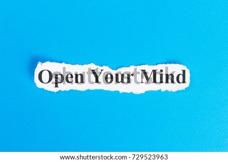 Open your mind essay