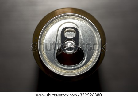 Opened Beer Can - stock photo