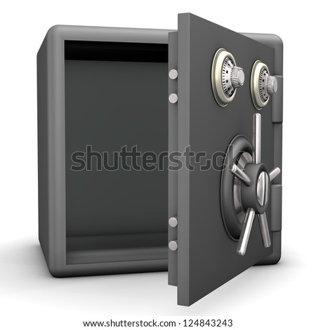 Open Safe Box Stock Photos, Royalty-Free Images & Vectors ...