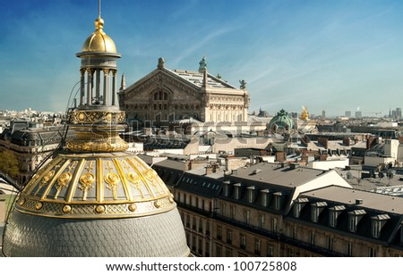 Opera Garnier - Paris - France - stock photo