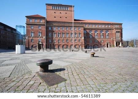 Opera-house of Kiel, Germany - stock photo