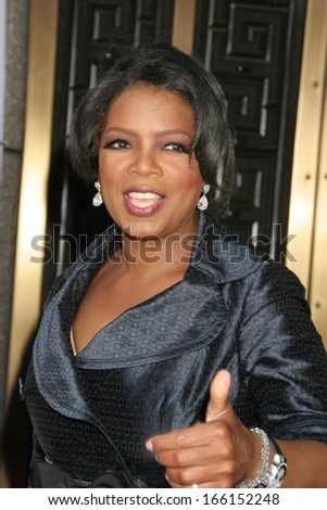 Oprah Winfrey at American Theatre Wing's 60th Annual Tony Awards - ARRIVALS, Radio City Music Hall, New York, NY, June 11, 2006 - stock photo