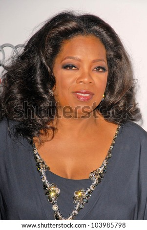 Oprah Winfrey  at the AFI Fest Premiere of 'Precious,' Chinese Theater, Hollywood, CA. 11-01-09 - stock photo