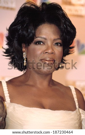 Oprah Winfrey at the EMMY AWARDS, 9/22/2002, LA, CA - stock photo