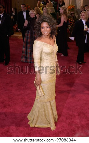 OPRAH WINFREY at the 77th Annual Academy Awards at the Kodak Theatre, Hollywood, CA February 27, 2005; Los Angeles, CA.  Paul Smith / Featureflash - stock photo
