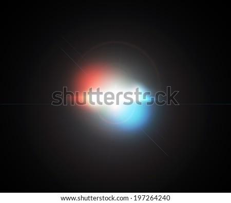 Optical Flare - stock photo